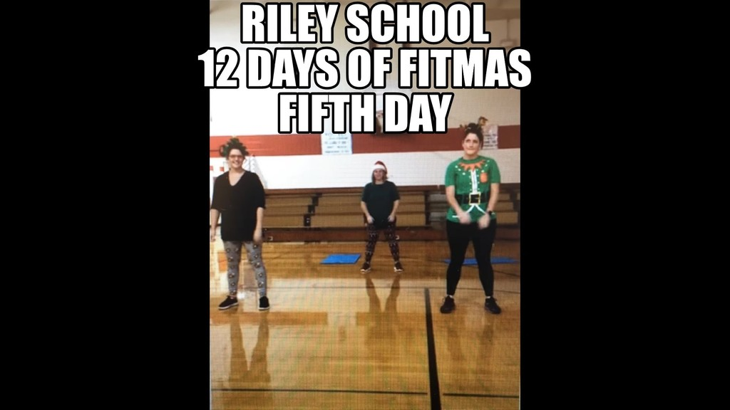 Fifth Day of fitmas