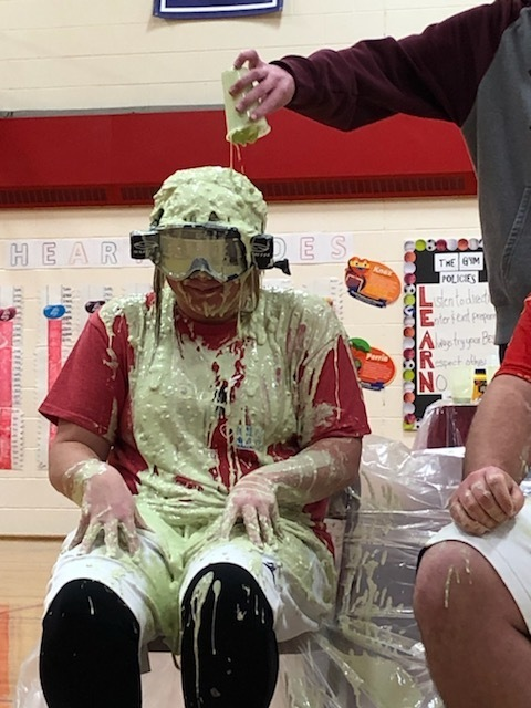 Mrs. Mortimer Slimed!